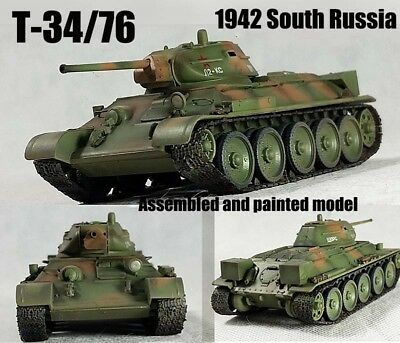 Russian Army 1942-nuevo Easy Model 36265-1//72 ruso tanques t34//76