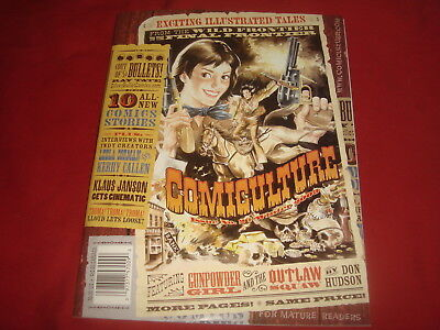 COMICULTURE #2  Art Magazine  Klaus Janson and others  2003  NM