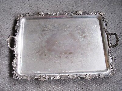 Large Barbour Silverplate Serving Tray