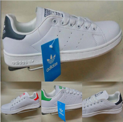 Stan Smith Sneakers Scarpe Donna Uomo Shoes Bianco Verde 2018