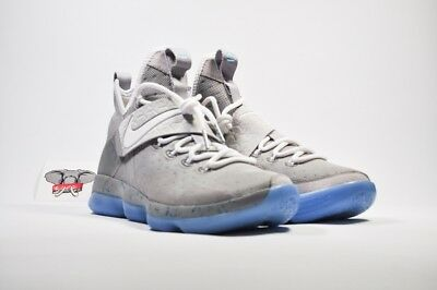 NIKE LEBRON XIV 14 Marty McFly Mag Summer Pack Matte Silver White