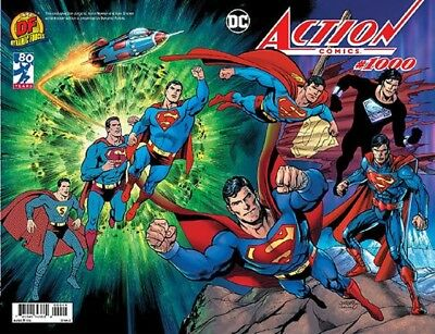 Action Comics 1000 Dan Jurgens Df Color Wraparound Wrap Variant Superman Nm