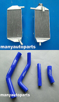 ALUMINUM RADIATOR and HOSE for YAMAHA YZF450 YZ450F 2010-2013 2011 2010 2012 12