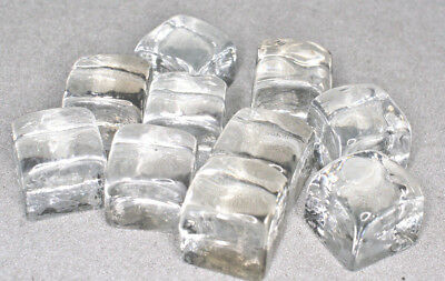 Ice Cubes, Glass, Props for Film & Photos 1 1/4""