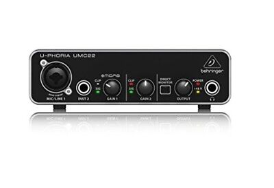 Behringer u-phoria umc22 USB audio interface from japan