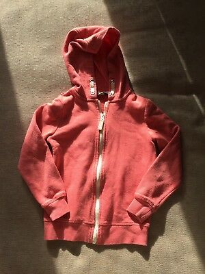 George Girls Plain Hoodie Style Zipper Age 6-7