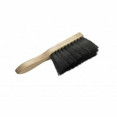 2 x Black Coco Hand Brush Medium Soft Bristle 7""