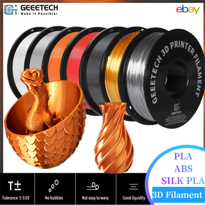 Geeetech PLA 1.75mm Filamento for 3DPrinter Ship from Czech Four Color to Choose