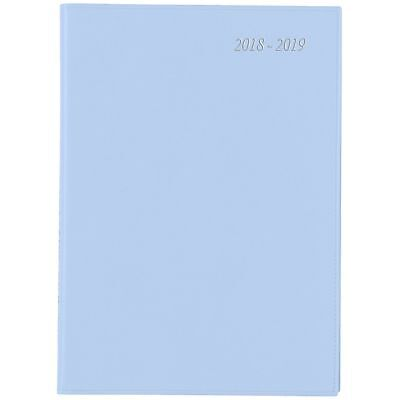 Diary 2018/19 Financial Year Cumberland Soho Wiro A4 Day To Page Lilac 41SFYSH