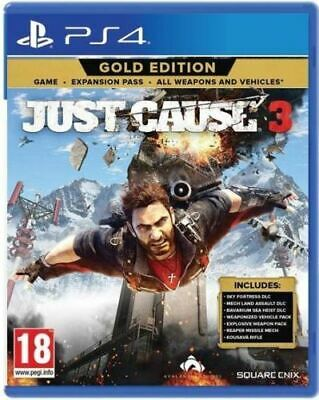 Just Cause 3 - Gold Edition Ps4 Videogioco Italiano Gioco Play Station 4 Nuovo