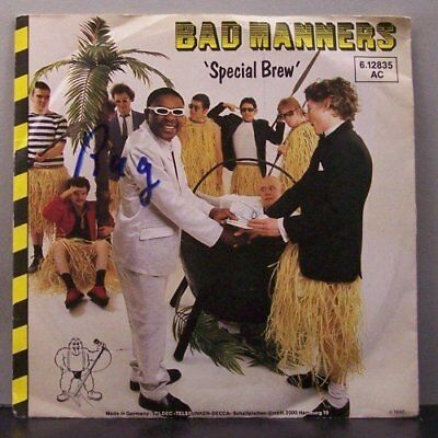 """(o) Bad Manners - Special Brew (7"""" Single)"""