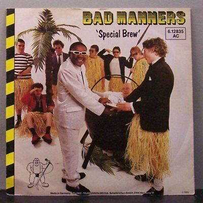 """(o) Bad Manners - Special Brew (Promo 7"""" Single)"""