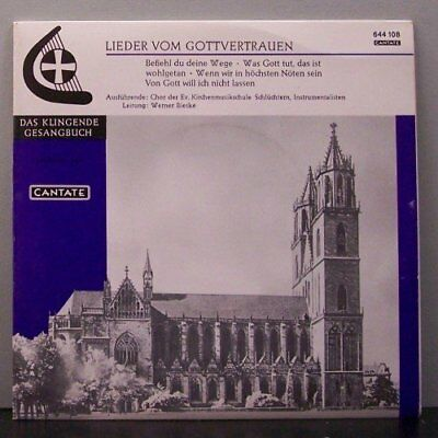 "(o) Werner Bieske - Lieder Vom Gottvertrauen (7"" Single)"