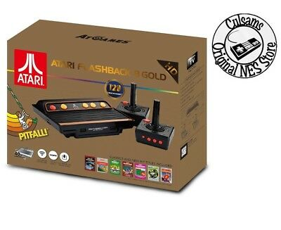 Atari Flashback 8 Gold HD 2600 Classic Console System 120 Preloaded Games