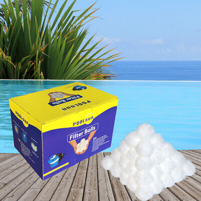 PoolSun Filter Balls 700g - Alternative für 25kg Filtersand Pool Filtermedium