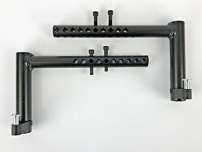 Quickie Iris Wheelchair Replacement Footrest Receiver Hanger w/ Latch Assembly