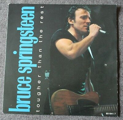 Bruce Springsteen, tougher than the rest / live version, SP - 45 tours Holland