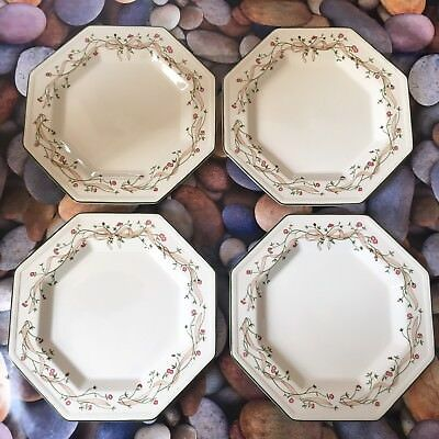 2 X Johnson Brothers Heritage Large White Dinner Plates 10\