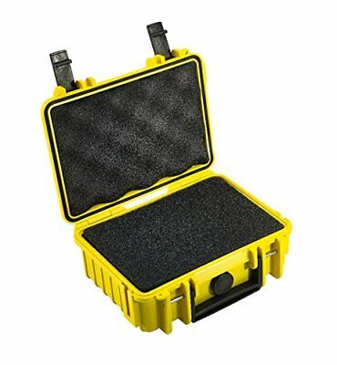 B&W outdoor.cases type 500 with pre-cut foam SI - The Original - Yellow