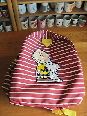 Snoopy / Peanuts Backpack Hanna Anderson Red