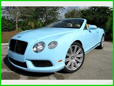2014 Bentley Continental GT GT V8