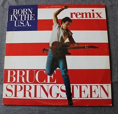 Bruce Springsteen, born in the USA remix,  Maxi Vinyl  Bresil