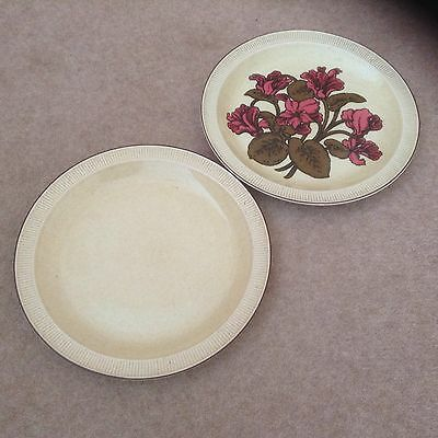 2 Poole Pottery Broadstone 25cm Dinner Plates / Cake Stand & 2 POOLE Pottery Broadstone 25cm Dinner Plates / Cake Stand - £5.99 ...