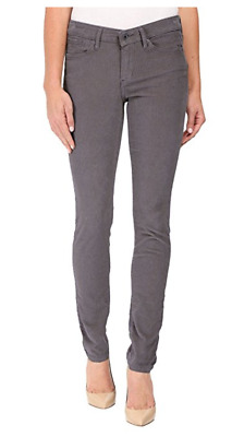 NWT Calvin Klein Jeans Women's Ultimate Skinny Jean Corduroy -Gray Shadow- 6X32