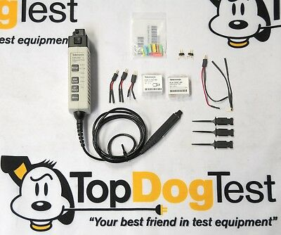 """Tektronix TDP1000 Differential Probe 1 GHz """" Calibrated w/Accessories """""""