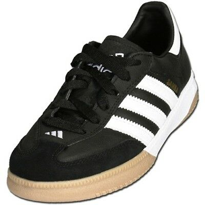 d0b094f02 VINTAGE ADIDAS SAMBA Classic Indoor Soccer Shoes Mens Size 12.5 Made ...