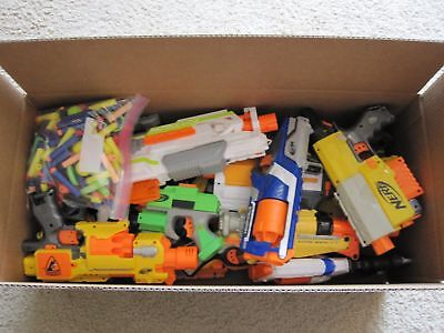 Huge Wholesale Lot of Nerf Dart Blaster Guns Lot #2 Must See No Reverse