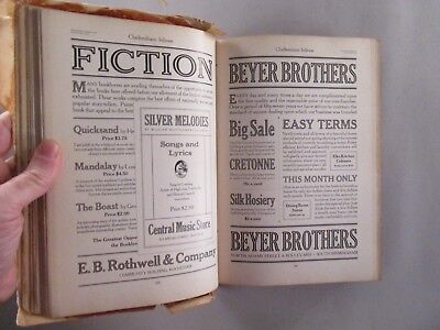 American Type Founders CATALOG - 1923 -- Large Specimen Book of Type
