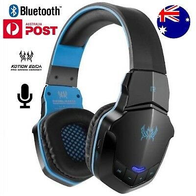 KOTION EACH B3505 V4.1 Wireless Bluetooth Stereo Gaming Headphone With Mic AUS