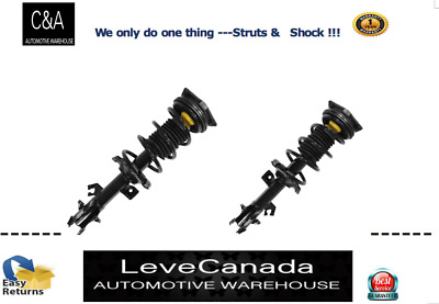 Front Complete Struts & Coil Spring Assembly Pair FIT 2007-2012 Nissan Versa