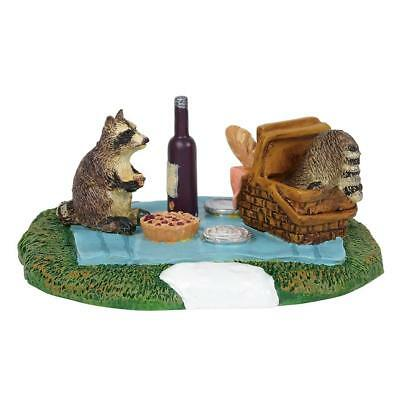 Department 56 General Village New 2018 WOODLAND RACCOON PICNIC 6001727 Dept 56