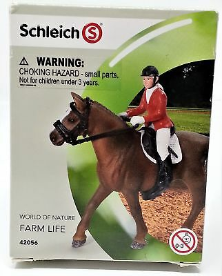 NEW Schleich Show Jumper Equestrian Farm Horse Accessory Set 42056 Hand Painted