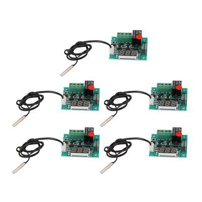 5 Pcs High-precision W1209 LED Digital Thermostat Temperature Control Switch
