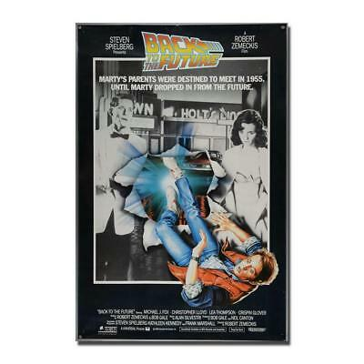 "New Back to the Future 1 2 3 Amazing Movie Poster 13x20"" 20x30"" 24x36"" Art Print"