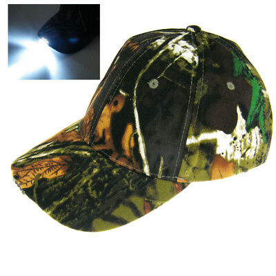 c7f7907642919 1pcs 5 Led Lights Hat Camouflage For Night Fishing Hiking Cap Fishing  Tackles