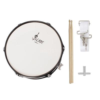 Professional Snare Drum Head 14 Inch with Drumstick Drum Key Strap for W2C3