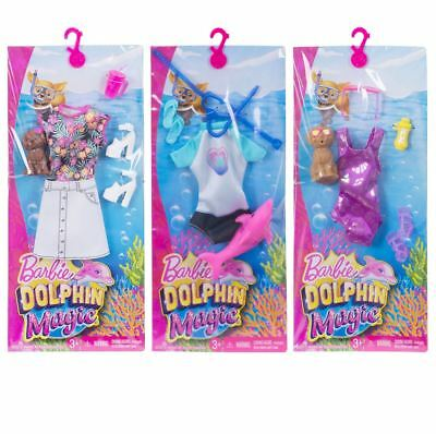 Barbie Dolphin Magic Fashion Pack Doll Outfit Shoes Accessory Playset