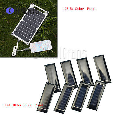10W 5V Portable Solar USB Charger Power Charging Panel for Samsung IPhoneATF