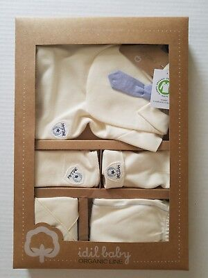 Baby organic clothes new born _6 m %100 cotton no colors added/ Etko certificate
