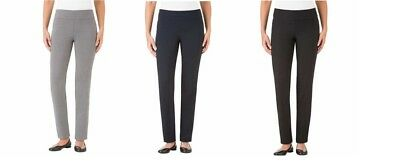 New Womens Hilary Radley Ladies' Pull On Comfort Fit Pant Tummy Control Variety