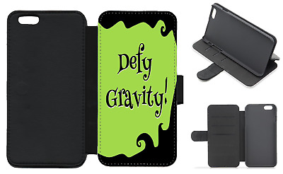 WICKED Musical Quote Wallet Flip Phone Case iPhone Galaxy 4 5 6 7 8 Plus X (A)
