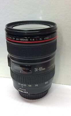 Canon EF 24-105mm f/4 f4 L IS USM ZOOM  Lens  with UV Filter
