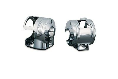 Kuryakyn 9189 Chrome Hand Control Covers Honda Shadow 1100 & Valkyrie