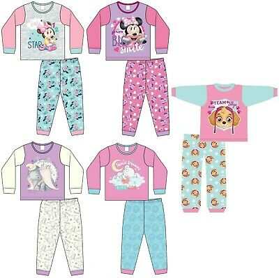 Minnie Mouse Character Pyjamas Baby Girls Kids PJs Nightwear 6 9 12 18 24 Months