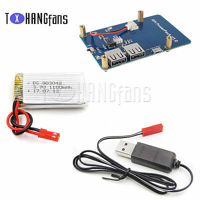Lithium Battery Expansion Board Power + Dual USB Output for Raspberry Pi3ATF