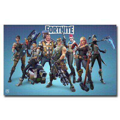 Fortnite Battle Royale 12x21inch Video Game Silk Poster Art Print